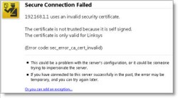 Watching The Net» How To Fix Invalid Certificate Error When
