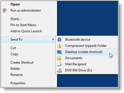 Add A Shortcut On Your Desktop For Creating A System Restore Point