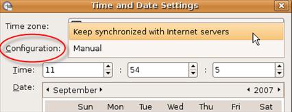 Enable Automatic Time Synchronization In Ubuntu And Kubuntu