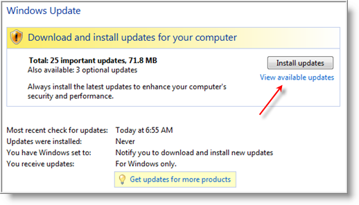 Download All Windows 7 Update After Sp1 For Vista