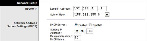 Watching The Net» Linksys Tip: Assign Static IP Address To